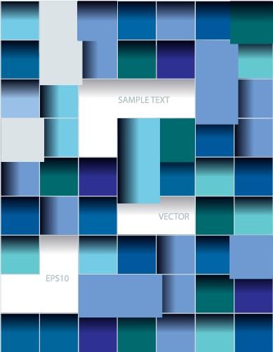 squares multicolor Creative background creative background vector background