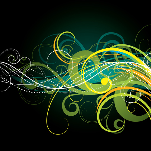 illustration colored background abstract