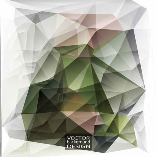 geometric embossment effect background