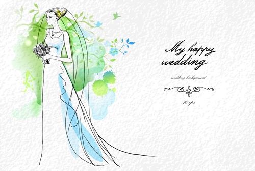 wedding vector free download