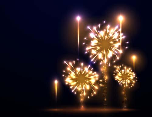 Fireworks festival effect