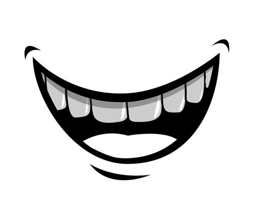 cartoon mouth and teeth vector set 05 welovesolo rh welovesolo com smile mouth cartoon images big mouth cartoon images