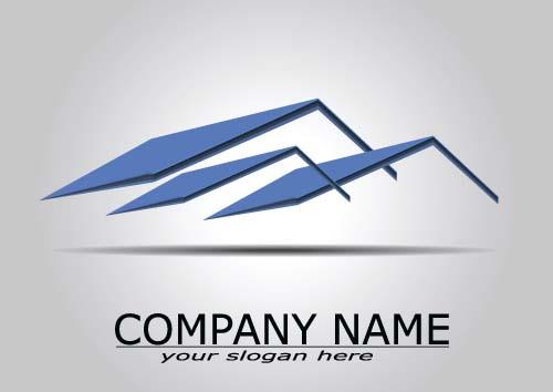 real estate company names. real estate company logos vectors 05 names