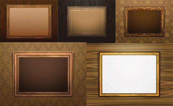 wood frame classical