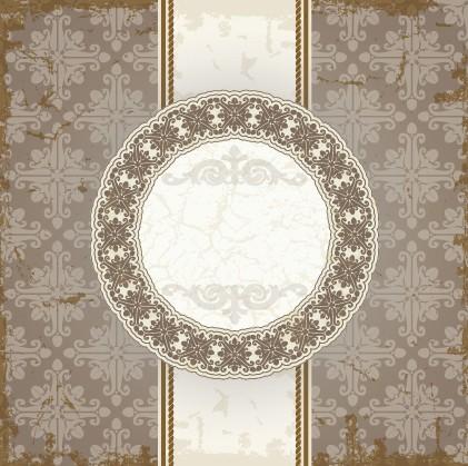 vintage frame floral background floral background