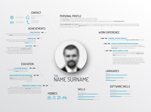 template resume creative