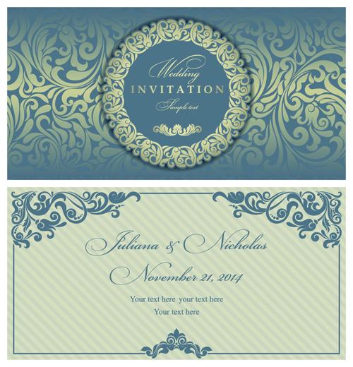 Vintage Style vintage style invitation elegant