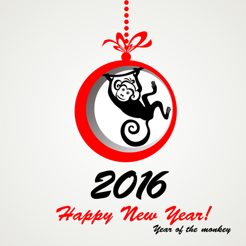 year new monkey 2016