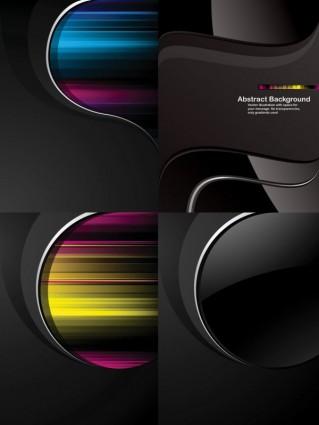 trend dynamic black background