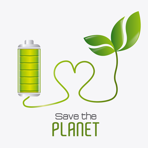 save planet eco template vector set 01 welovesolo