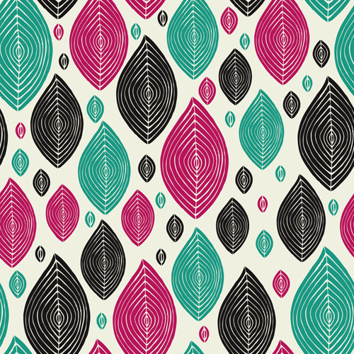 textures seamless pattern leaves