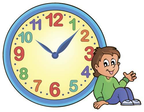 Výsledek obrázku pro clock cartoon