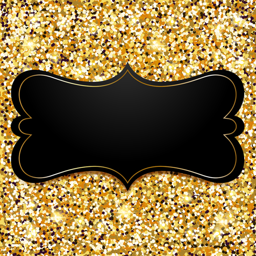 Golden with black vip invitation card background vector 03 welovesolo vip invitation stopboris Image collections
