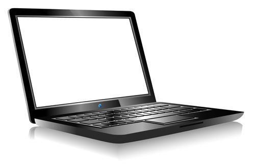 templates materials laptop