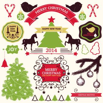 ribbon ornaments ornament lables labels label christmas baubles