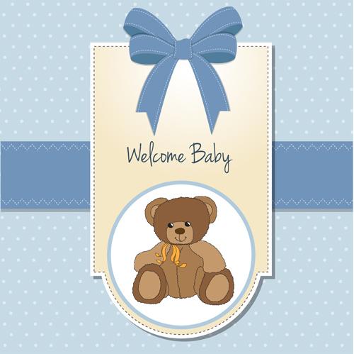 cute card baby