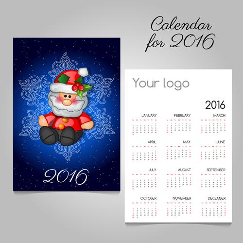 christmas cards calendars 2016