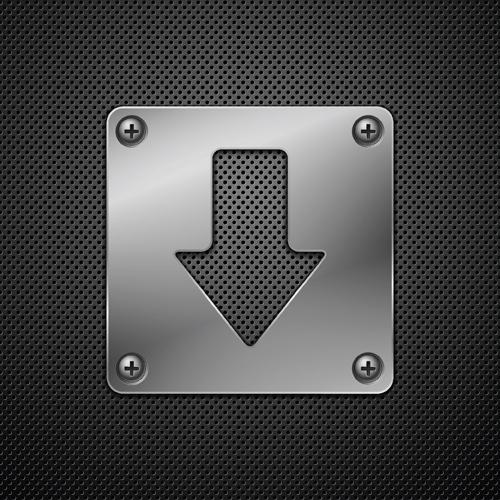screws metallic background