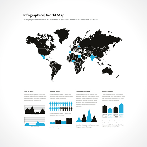 World map with infographics creative vector 02 welovesolo world map with infographics creative vector 02 gumiabroncs Choice Image