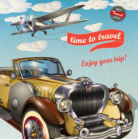 Vintage Style vintage poster advertising