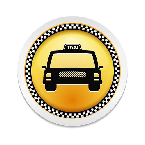 taxi material creative badge