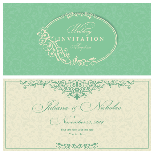 Vintage Style vintage invitation gray cards card