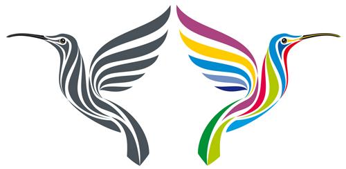 logos hummingbird