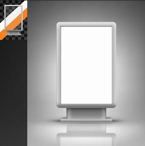 Trade Exhibition Stand Vector : Trade exhibition stand and flag banner stock vector thinkstock