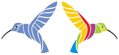 hummingbird vector logos 01 welovesolo