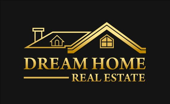 25qyb5l5lelss02 Dream home logo vector