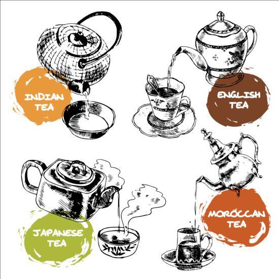 teapot hand drawn