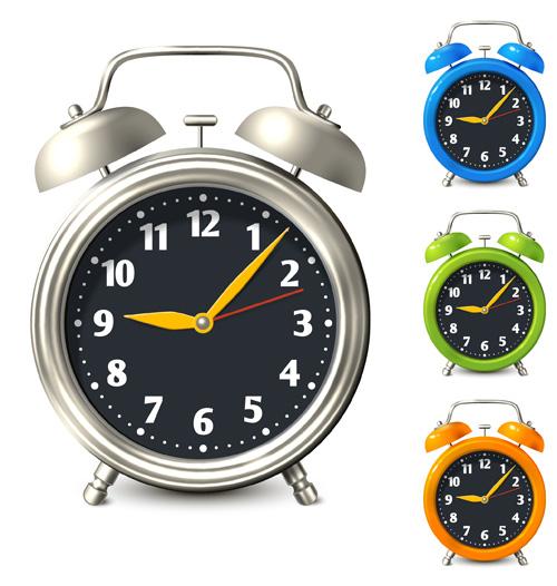 colored clock alarm