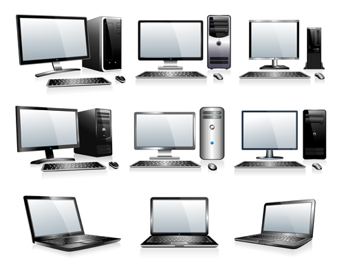 illustration different computers