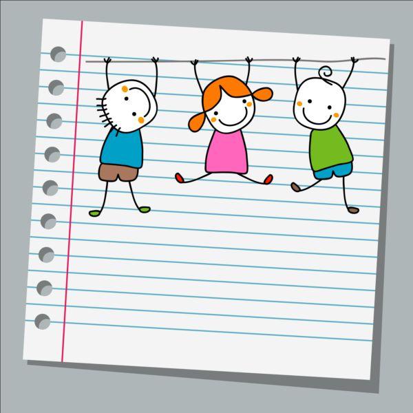paper notebook kids