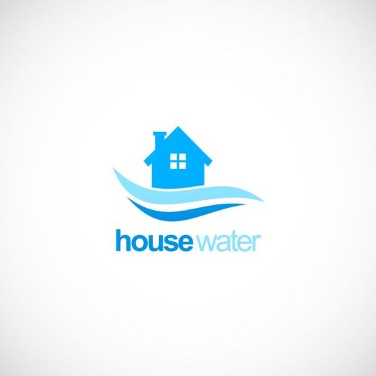 water Supply logo house company