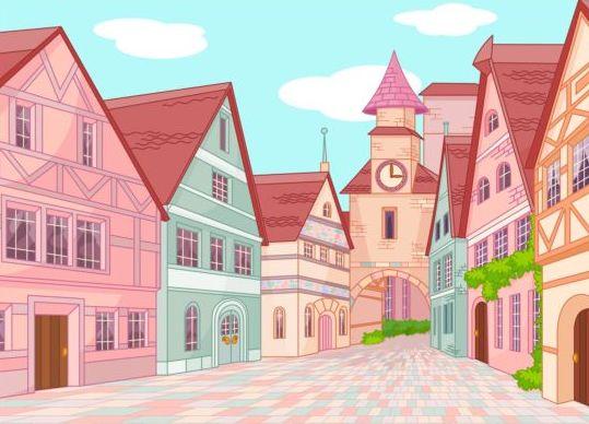 town street Europe
