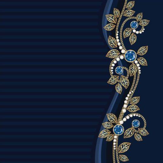 postcard jewel floral