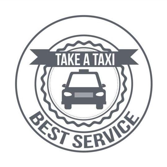taxi labels gray