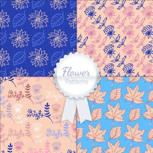 seamless pattern flower Charming