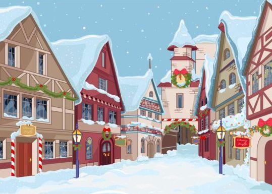 town street christmas