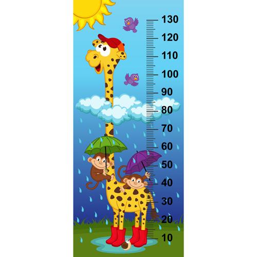 styles measure height cartoon baby