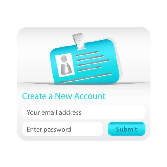 new interface create account