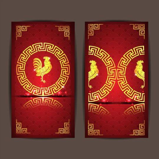 25pq3gstwgkj300 Chinese new year 2017 vertical cards vector 04