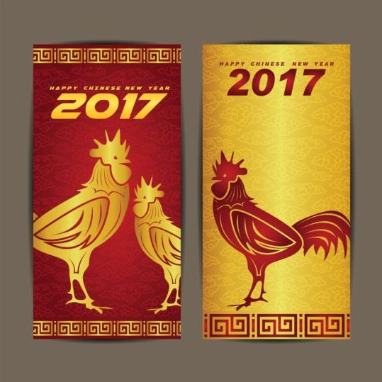 294l4cs5msvqz00 Chinese new year 2017 vertical cards vector 03