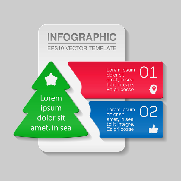numbered infographic creative