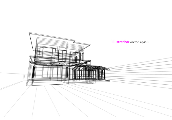 structure house glass architecture