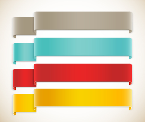 ribbon corners color