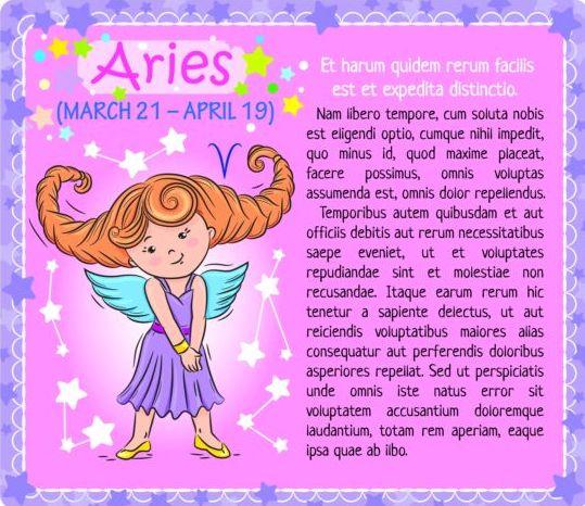 zodiac kid Aries