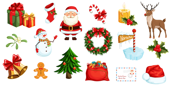 Sample elements decor christmas