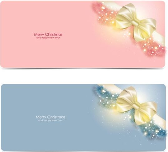 08yh5ruxumawg08 Pink with gray christmas card with bow vector